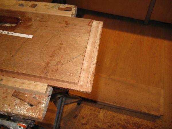 Laska Volg het bouwen van mijn woodcore S-spant zeilboot